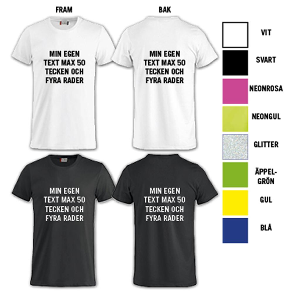 trycka bild på tröja